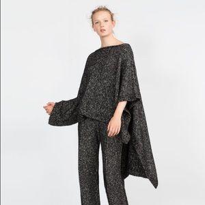 Zara Knit Italian Yarn Cape